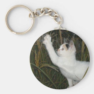 FUNNY CAT KEYCHAIN