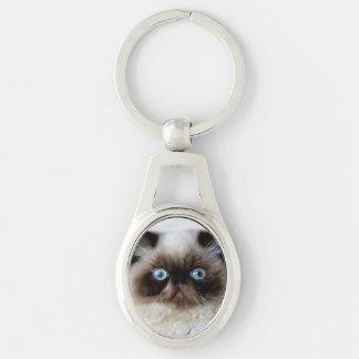 Funny Cat Keychain