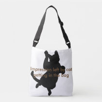 Funny Cat Kitty Cats Cute Fashion Chic Bags