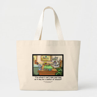 Funny Cat & Lawyer Tote Bag Tote Bags