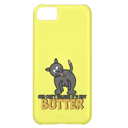 Funny cat licking its bumhole iPhone 5C cases : Zazzle