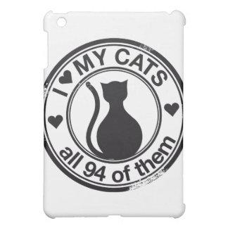 Funny cat logo cover for the iPad mini
