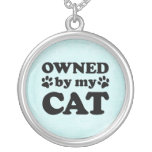 Funny Cat Lover Gift Necklace