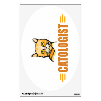 Funny Cat Lover Wall Decal