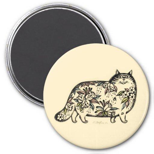 Funny Cat Magnet