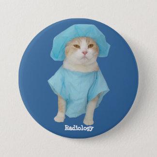 Funny Cat Medical Pin