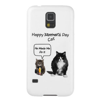 Funny Cat Mother's Day Samsung Galaxy Case