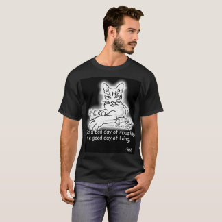 Funny Cat Mouse Mousing T-Shirt