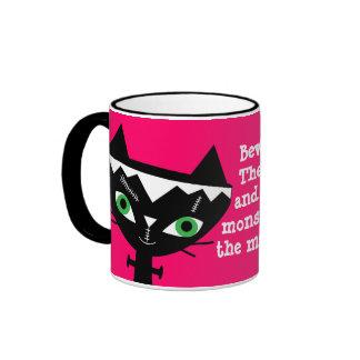 Funny Cat of Frankenstein Mug