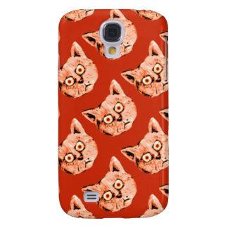 funny cat patterning samsung s4 case
