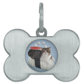 Funny Cat Pet Name Tags