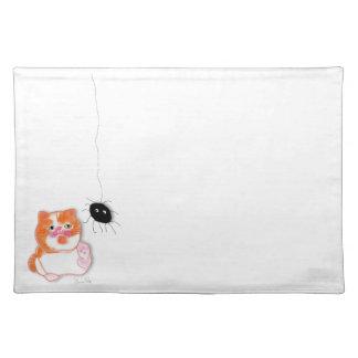 Funny cat series mantel