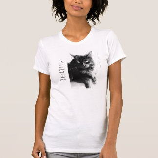 Funny Cat Shirt, if you're a cat you ignore people T-shirt