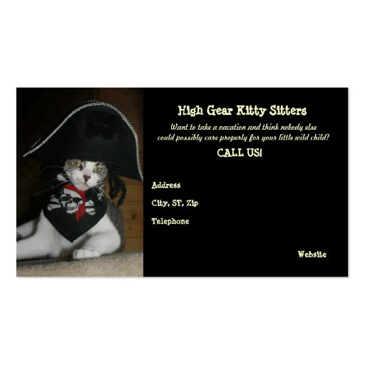 Cat Sitting Business For Sale