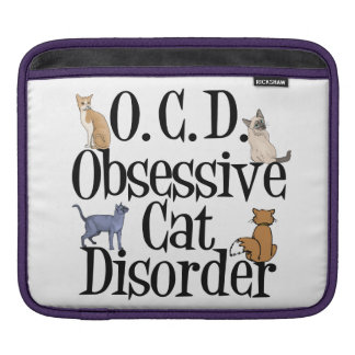 Funny Cat Sleeve For iPads
