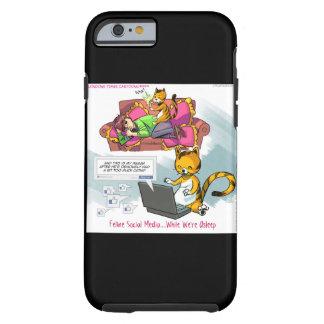 Funny Cat Social Media iPhone 6 Case