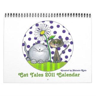 Funny Cat Tales 2011 Calendar
