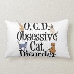 Funny Cat Throw Pillows