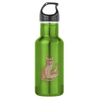 Funny Cat Water Bottle