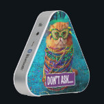 """Funny Cat with Colorful Beads at Mardi Gras Speaker<br><div class=""""desc"""">Feel Good Funny! Avanti,  the Global Humor Brand™ has been entertaining the world with its seriously funny greeting cards for over 35 years. Our characters live life to the fullest and celebrate the humor in everyday life.</div>"""