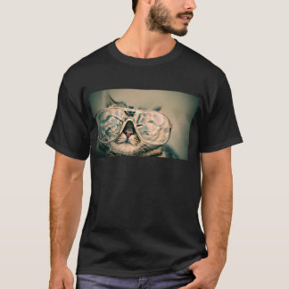 Funny Cat with Glasses T-Shirt