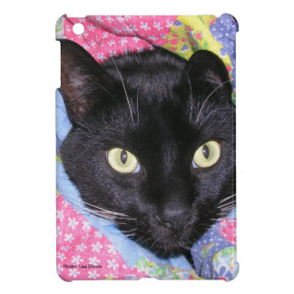 Funny Cat: Wrapped in Blankets - iPad Mini Cover
