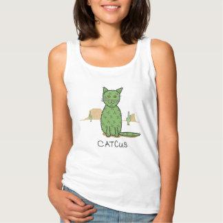 Funny Catcus Cactus Drawing Tank Top