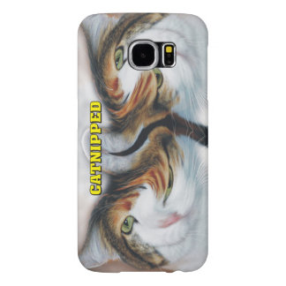 Funny Catnipped Cats Samsung Galaxy S6 Case