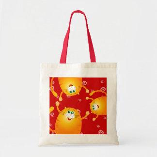 Funny cats, bag