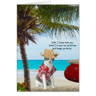 Funny Cats, Fun Loving Son, Father's Day Greeting Cards
