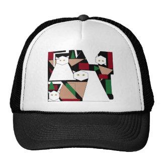 Funny cats trucker hat