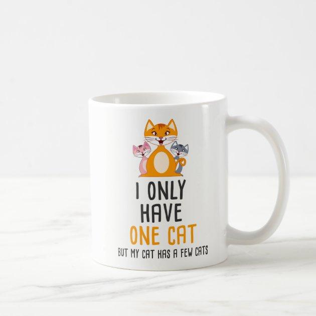 We Love Cats I Work Hard So My Cat Can Live a Better Life Coffee Mug  Funny Cat Fanatic Mug  11 Ounce White Coffee Mug  Great Mug Gift for Cat Lovers