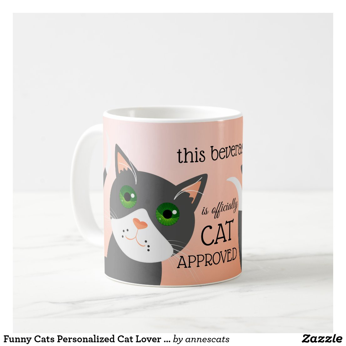 Funny Cats Personalized Cat Lover Mug