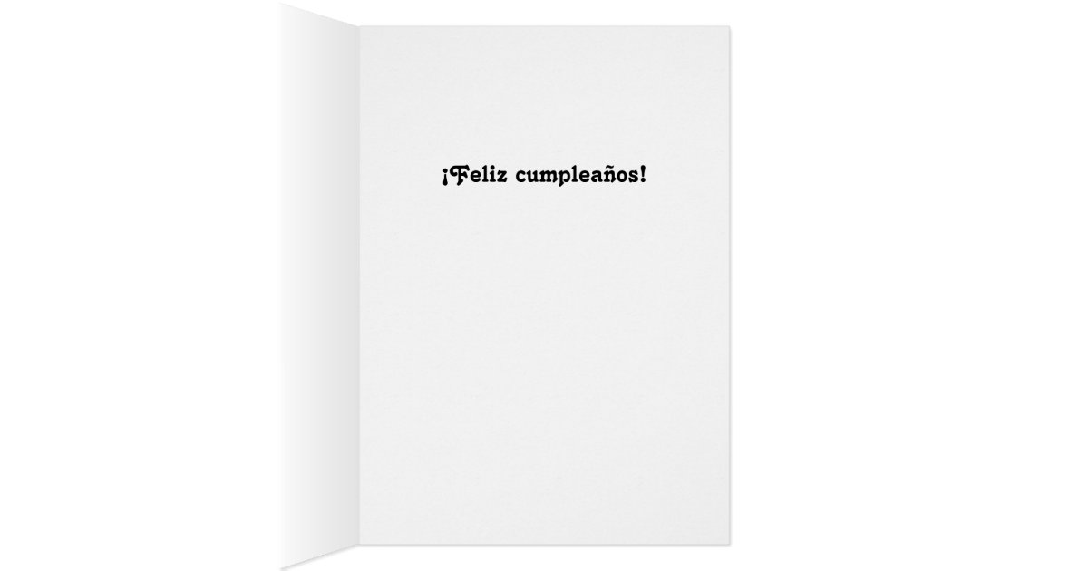 Funny Cats Spanish Birthday for anyone Card – Funny Spanish Birthday Cards