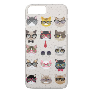 Funny Cats with Glasses iPhone 7 Plus Case