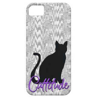 Funny Cattitude iPhone 5 Covers