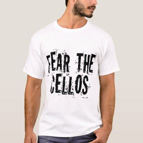 Funny Cello T_shirt _ Customized