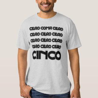 Funny cero coma cero cycling quotation t shirt