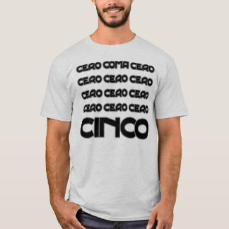 Funny cero coma cero cycling quotation T-Shirt