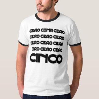 Funny cero coma cero cycling quotation tee shirt