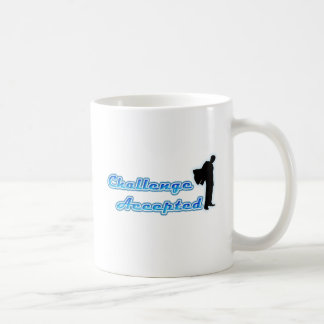 Funny Challenge Accepted Classic White Coffee Mug