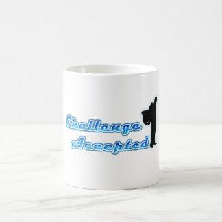 Funny Challenge Accepted Coffee Mug