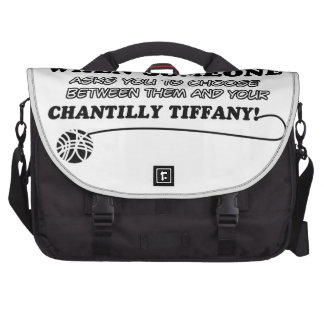 Funny chantilly tiffany designs computer bag