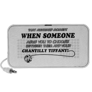 Funny chantilly tiffany designs portable speakers