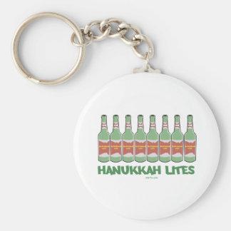 FUNNY  CHANUKAH HANUKKAH LITES GIFTS KEYCHAIN