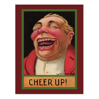 Funny Cheer Up ! Postcard