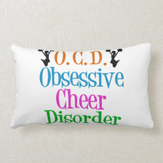 Funny Cheerleading Lumbar Pillow