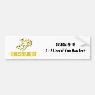 Funny Cheese Bumper Sticker