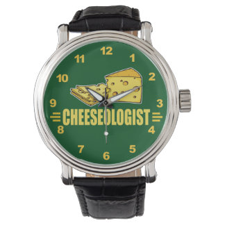 Funny Cheese Cheeseologist Cheesehead Watch