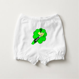 Funny Cheese Fart Design Diaper Cover